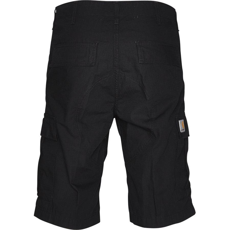 REGULAR CARGO SHORT I015999 - Regular Cargo Shorts - Shorts - Regular - BLACK RINSED - 2